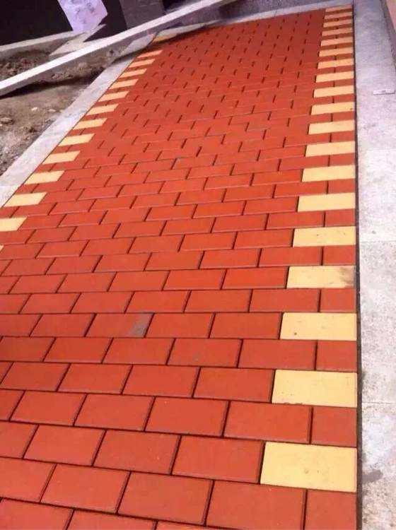 西安透水砖 施工完工