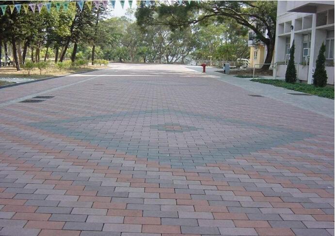 西安广场砖 铺设完成